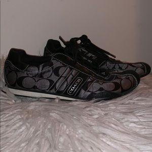 Coach Signature C Sneakers in Black